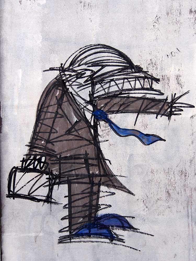 Nathan Bowen Street Art<br>London, Southwark Street<br>03/2015