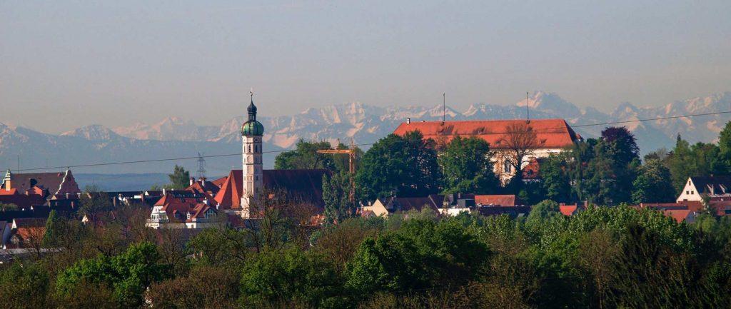 Dachau bei Föhn