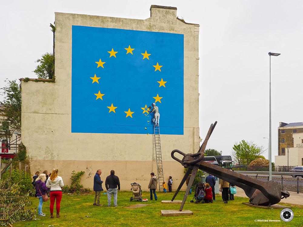 Banksy, Dover, UK<br>2017