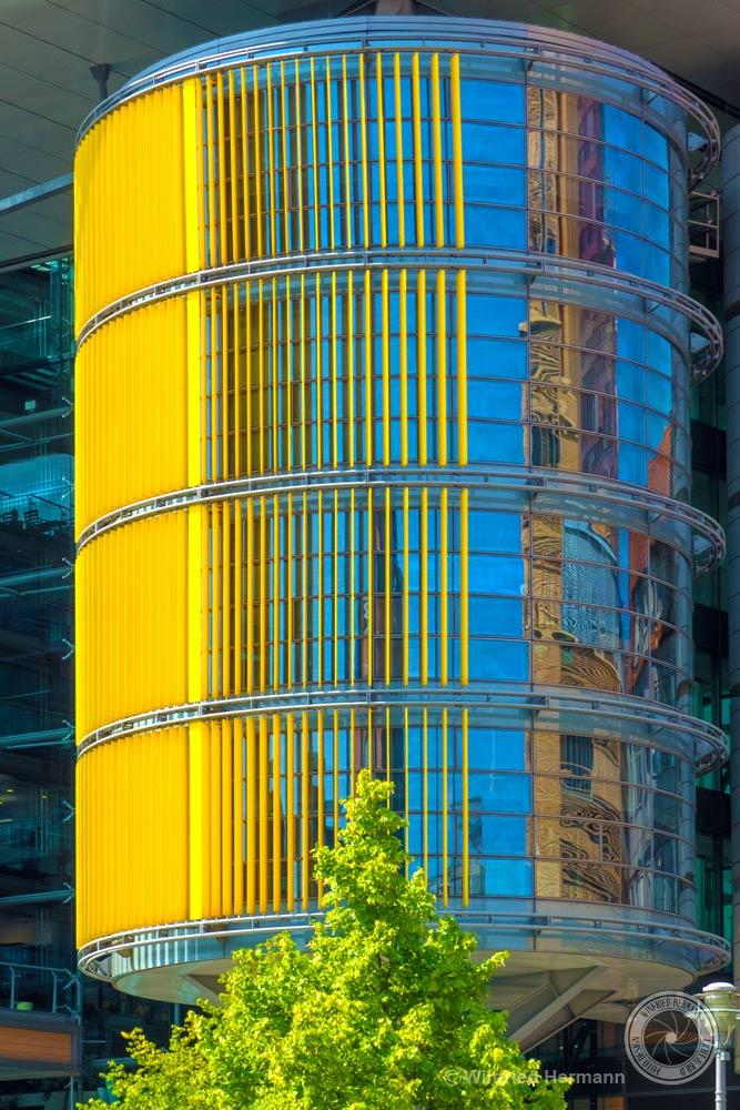 Linkstraße 2 / 4, Berlin, Bürokomplex von Richard Rogers